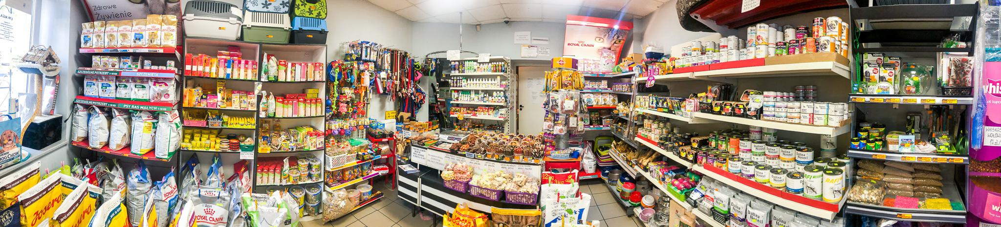 sklep zoologiczny Alanis - Lessie - panorama